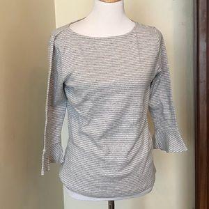 Ralph Lauren striped bell sleeve top